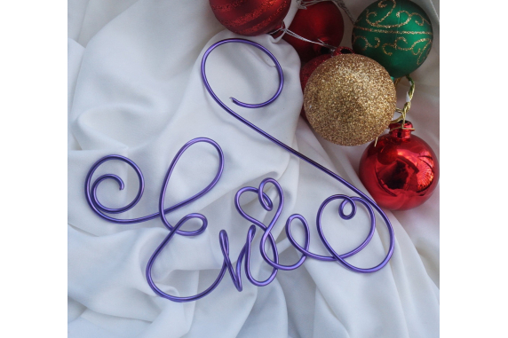 personalized ornament name