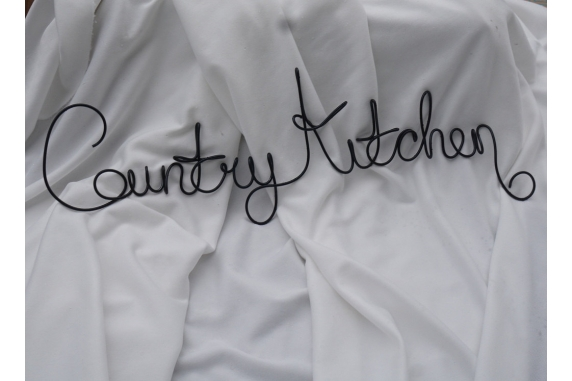 Country Kitchen Wall Sign