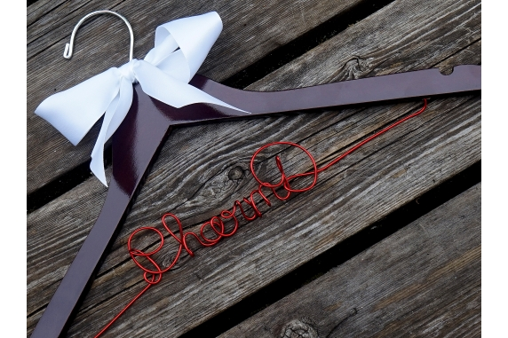 pharmd hanger with ribbon