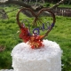 fall love cake topper
