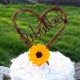 twig wire caketopper