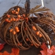 rustic vine pumpkin with berries