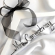 personalized wire name bride hanger