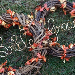 bride groom fall chair backs