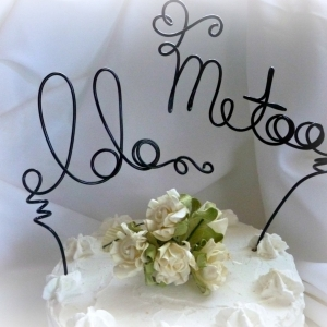 i do me too cake topper
