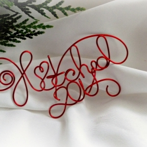 hitched ornament