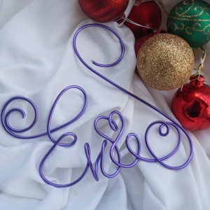 Personalized Christmas Ornament, Any Name