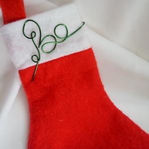 personalized felt stocking