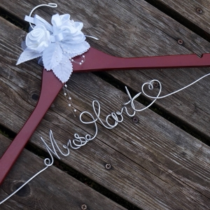 mrs bride hanger