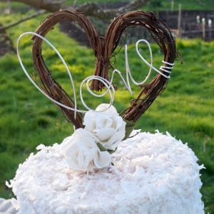 love vine cake topper