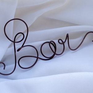 bar wire sign