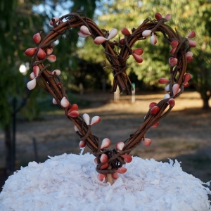 Fall Cake Topper, Rustic Wedding Reception