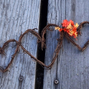 Fall Garland For Rustic Autumn Decor, With Or Without Leaves