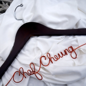 Culinary School Graduation Gift, PERSONALIZED Chef Hanger