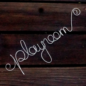 Playroom Sign, Kids Room Decor, READY TO SHIP