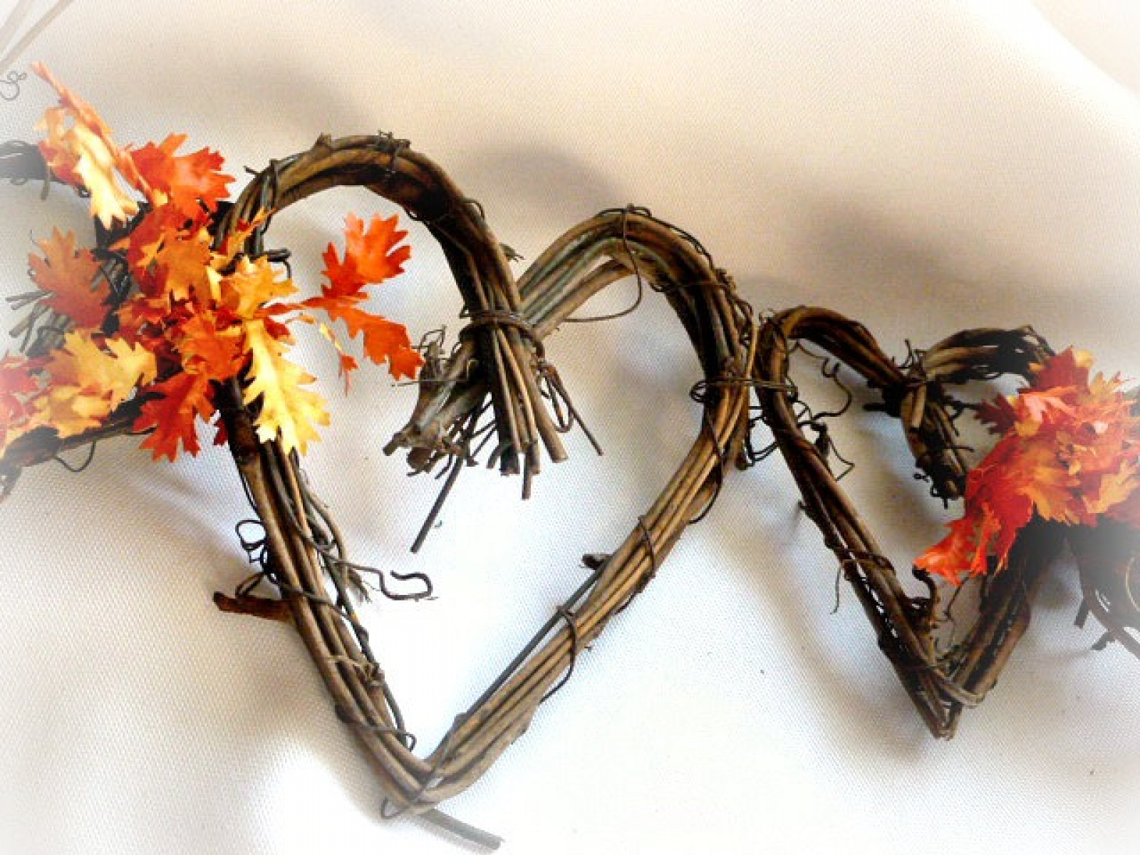 Fall Garland For Rustic Autumn Decor With Or Without Leaves Handmade Affair