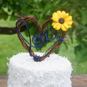 sunflower caketopper