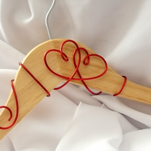 Hearts Wedding Hanger